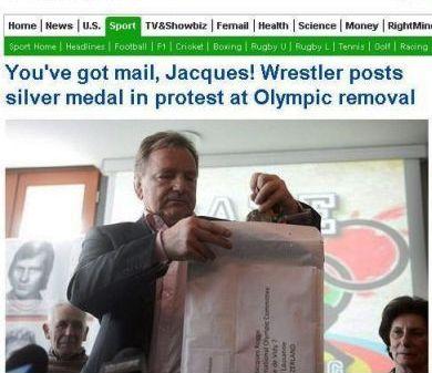 Andrzej Supron poruszył świat mediów – heroiczny protest i zwrot medalu olimpijskiego