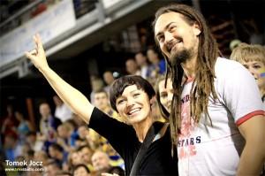 Filip Kliszczyk z żoną Agnieszką , fot. własna