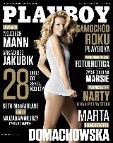Marta Domachowska, Playboy